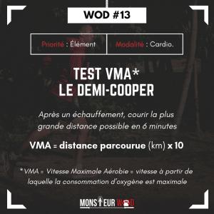 Test VMA demi-cooper