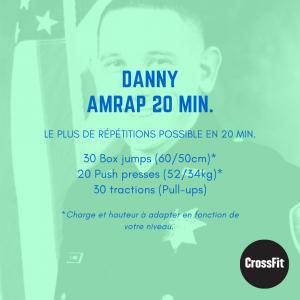 wod entraînement hero danny