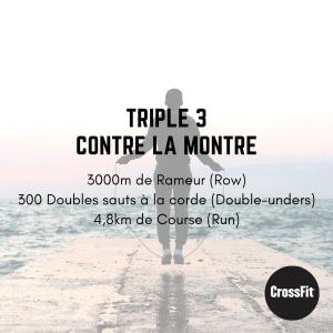 wod triple 3