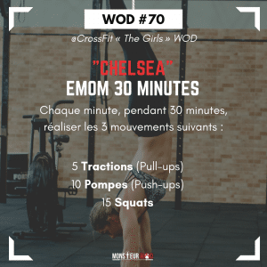 fiche entrainement wod chelsea the girl