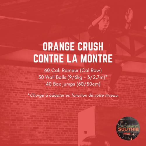 wod crossfit southie orange crush monsieurwod