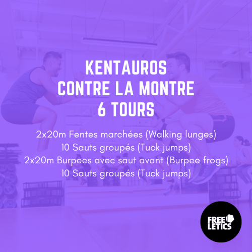 wod monsieurwod freeletics kentauros